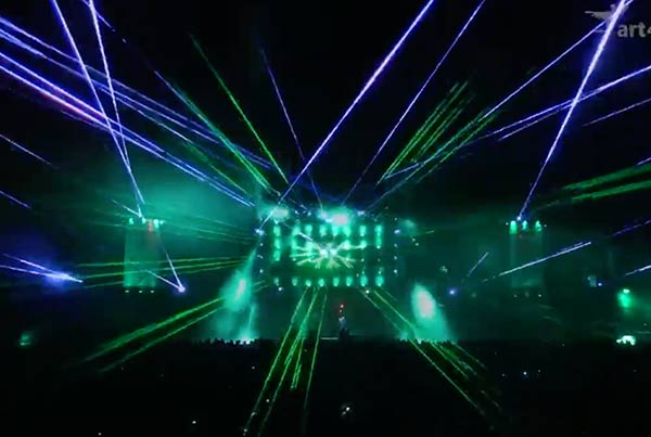 LASER SHOW by art4promotion