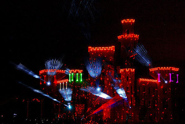 """3D VIDEO-LASER MAPPING """"We paint the world"""""""